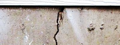 Cracked Foundation Damage