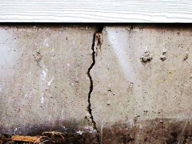 Cracked Foundation Damage