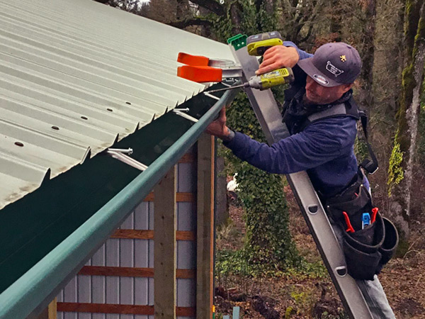 Gutter Installation in Eugene Oregon