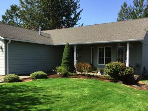 New White Rain Gutters – Portland, OR