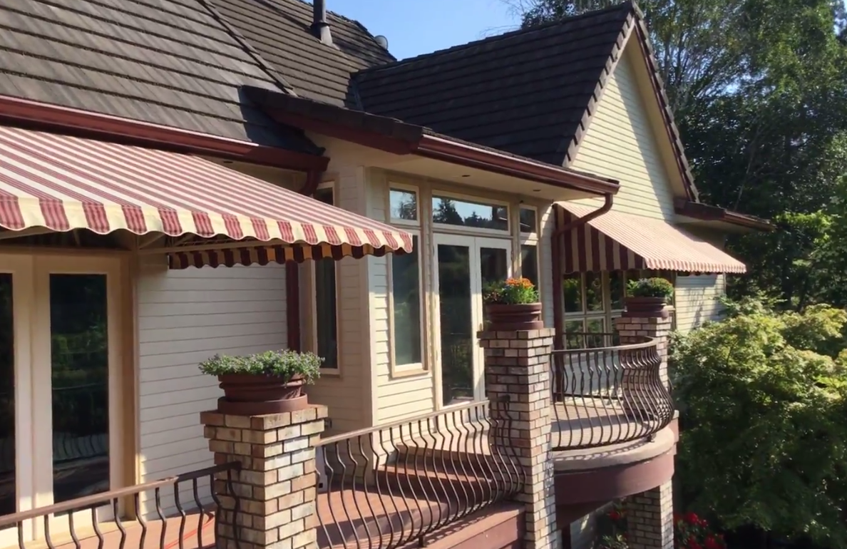 05 Colonial Red Gutters Oregon Gutter Service