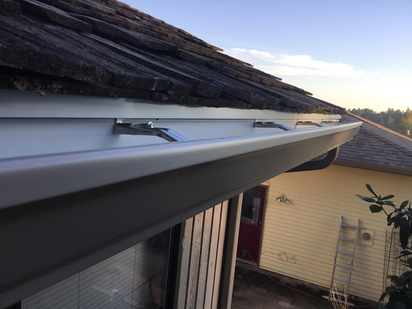 11 Pebble Stone Clay Gutters Oregon Gutter Service